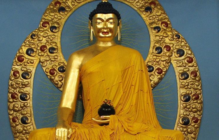 видео осквернения статуи будды в элисте как шарике
