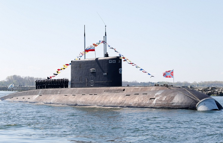 Экипаж славянки подводной лодки