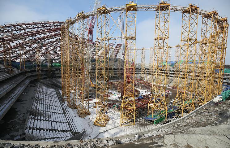 Строительство стадиона к ЧМ-2018 в Самаре вошло в график