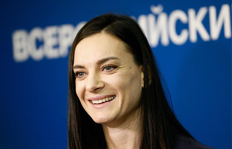 Колобков: ВАДА предложит Исинбаевой работу по защите чистых от допинга спортсменов