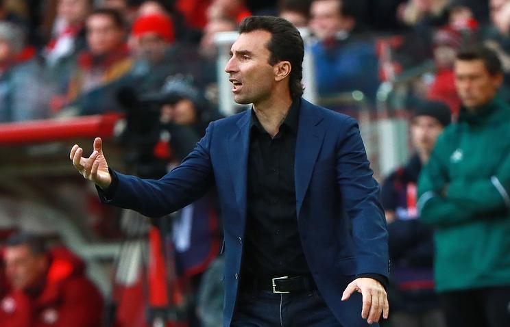 Григорян объявил об уходе с поста главного тренера ФК 'Анжи'