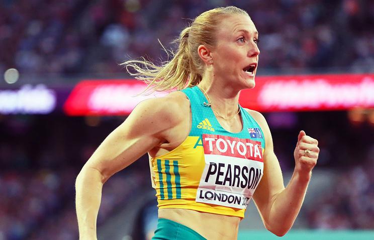 Австралийка Пирсон стала чемпионкой мира по легкой атлетике в беге на 100 м с барьерами