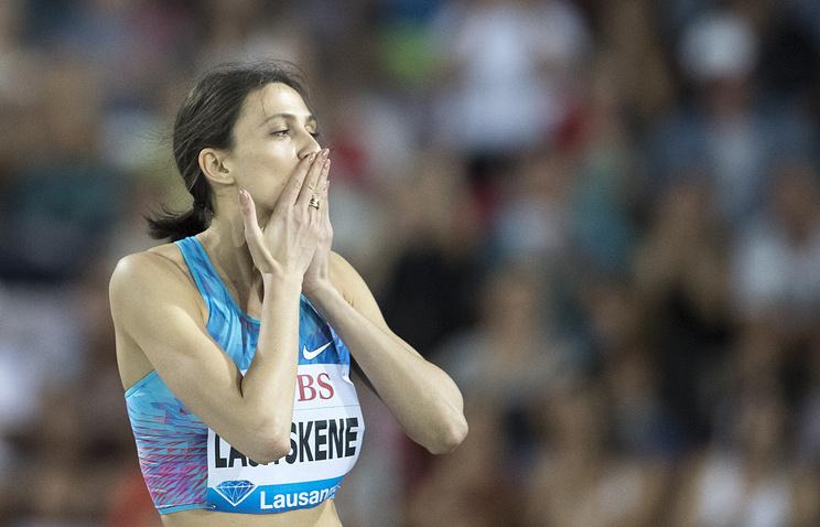 Россиянка Ласицкене завоевала золото ЧМ в Лондоне в прыжках в высоту