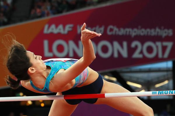 Россиянка Ласицкене выиграла золото чемпионата мира в прыжках в высоту