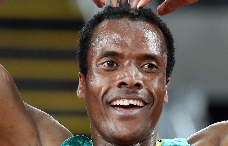 Эфиоп Эдрис стал чемпионом мира по легкой атлетике в беге на 5000 м
