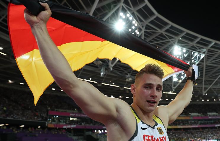 Немец Феттер стал чемпионом мира по легкой атлетике в метании копья