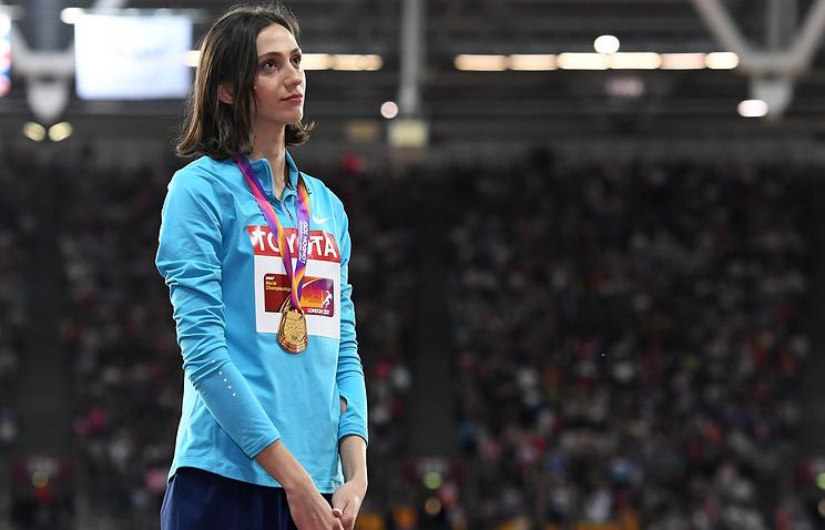 Легкоатлетка Ласицкене очень хотела, чтоб во время награждения на ЧМ играл гимн России