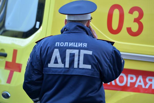 На северо-западе Москвы столкнулись восемь автомобилей