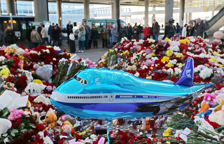 похороны пассажиров а 321 балконе, главное