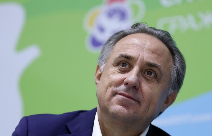 Мутко исключил возможность проведения футбольного матча сборных России и Сирии до ЧМ-2018