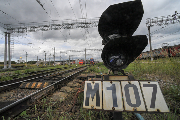 На Украине похитили железную дорогу