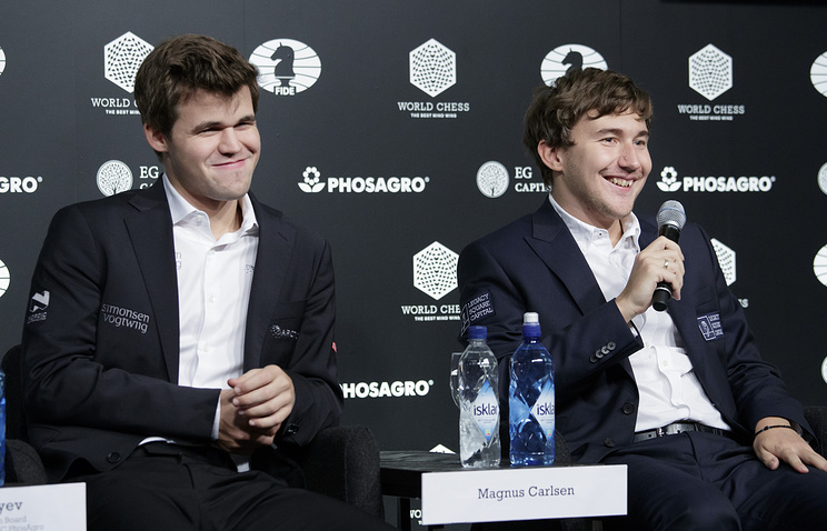 Карлсен, Карякин и Крамник выступят на шахматном супертурнире в Вейк-ан-Зее