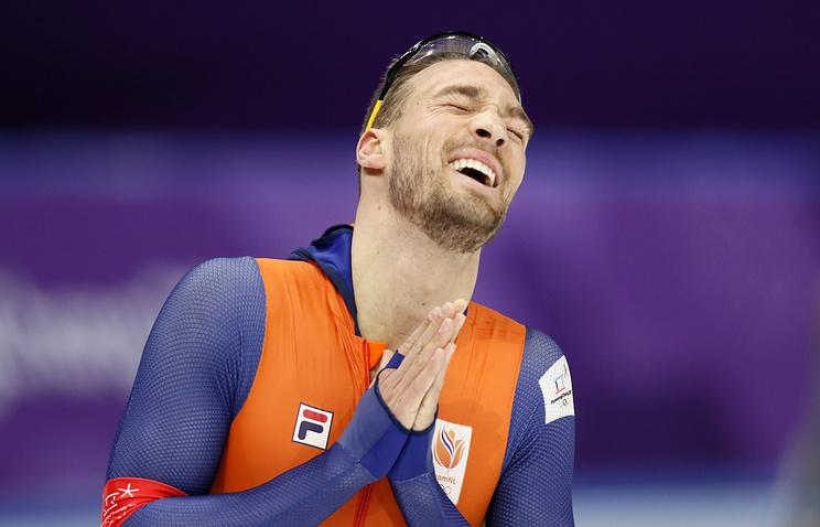 Победитель ОИ-2018 по конькобежному спорту Нёйс не скучает по конькобежцу Юскову