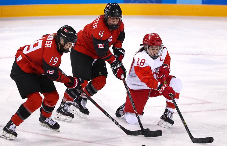 Сосина: российским хоккеисткам пора забросить первую на Играх шайбу в матче с финками