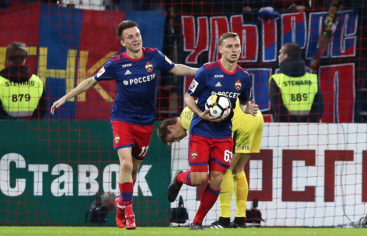 Чалов: матч с 'Арсеналом' в Лиге Европы сказался на результате игры с 'Динамо'