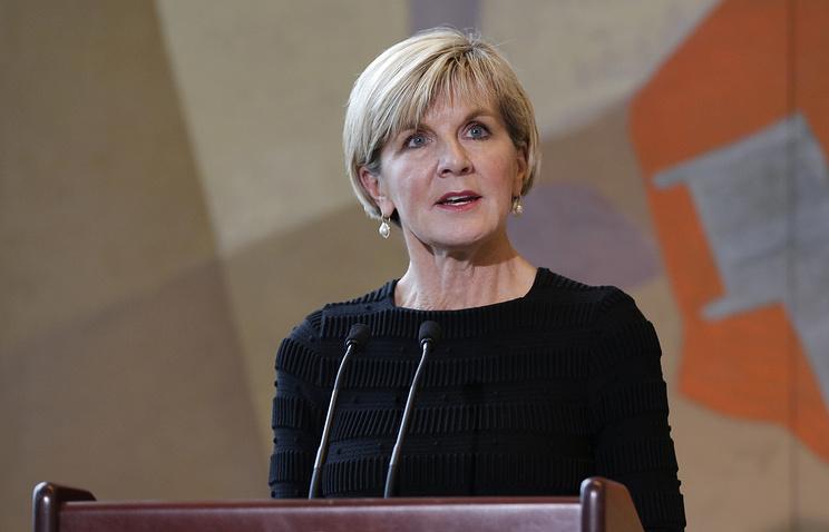 Глава МИД Австралии возложила на Россию 'конечную ответственность' за 'химатаки' в Сирии
