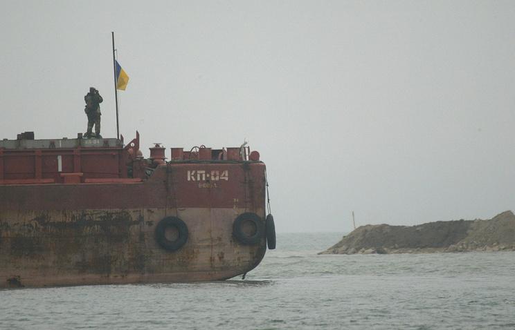 Украина арестовала российское судно, находящееся в Одесской области