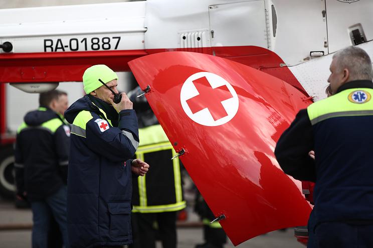 Шесть человек погибли при крушении вертолета в Хабаровске
