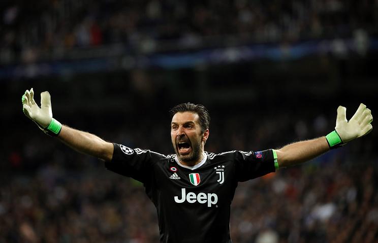 Буффон: 'Ювентус' в матче с 'Реалом' заслуживал как минимум дополнительное время