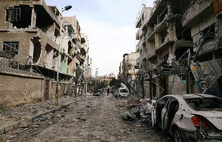 Сирийские войска установили полный контроль над Восточной Гутой