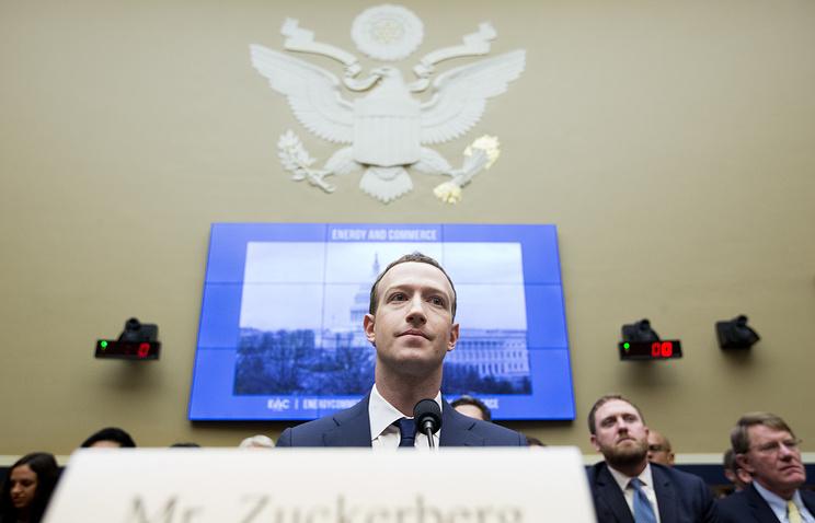 Цукерберг ответил на вопросы законодателей США о защите данных и наркотиках в Facebook