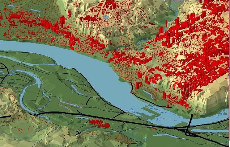 Портал геомониторинга подтопленных территорий передадут МЧС томские ученые