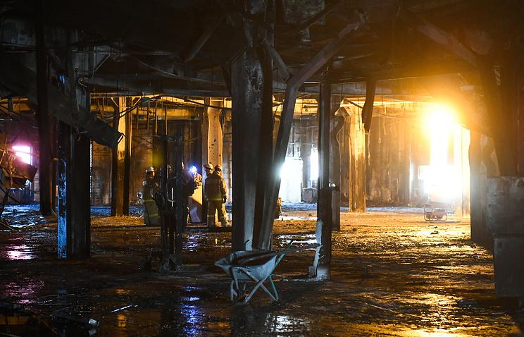 МЧС опубликовало исследование об эвакуации из ТЦ 'Зимняя вишня' при пожаре