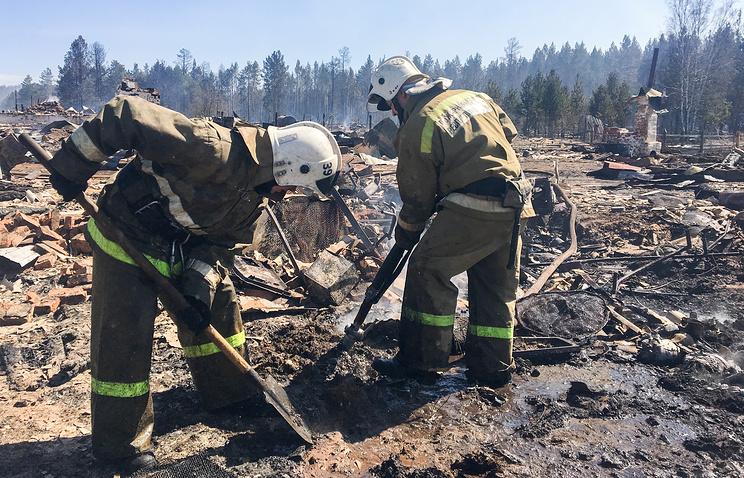 В четырех регионах Сибири ввели особый противопожарный режим