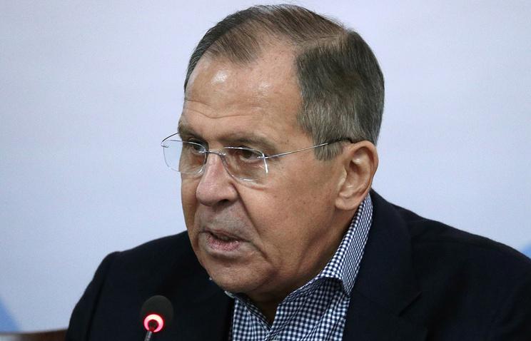 Лавров: РФ не зачищала место предполагаемого использования химоружия в Сирии