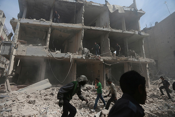 США заподозрили Россию в уничтожении следов химатаки в Думе