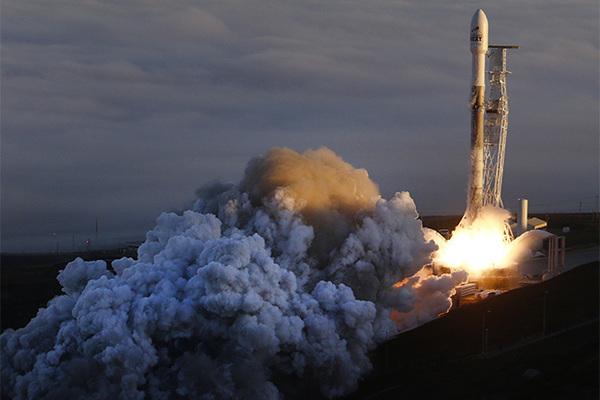 Вторую ступень Falcon 9 защитит российский батут
