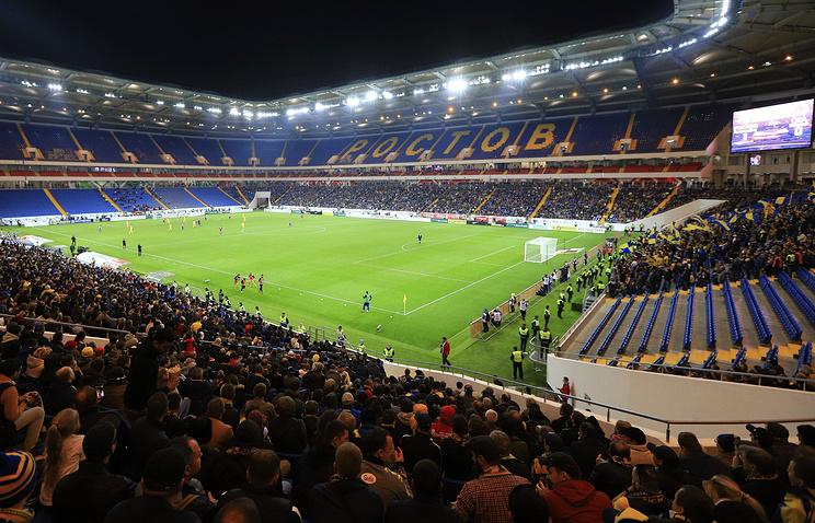 'Ростов-Арена' впечатлила футболистов и болельщиков