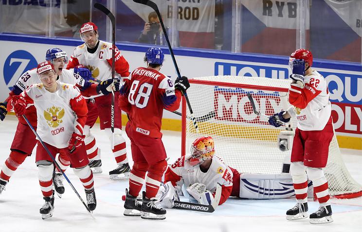 Хоккеисты сборной России впервые проиграли на чемпионате мира в Дании