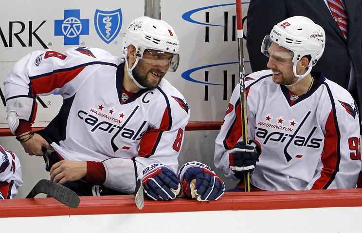 'Вашингтон' обыграл 'Тампу' в плей-офф НХЛ, Овечкин и Кузнецов набрали по два очка