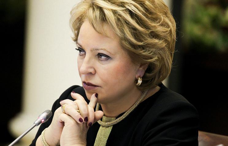 Матвиенко назвала чушью информацию о вмешательстве РФ в выборы Мексики