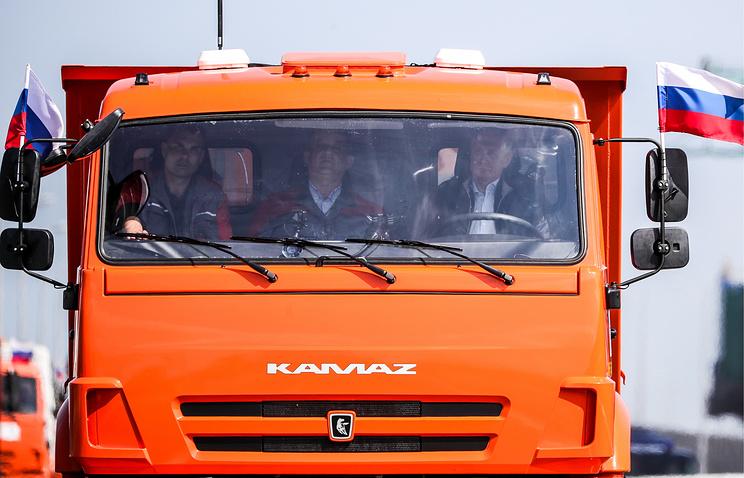 Как мир отреагировал на открытие Крымского моста