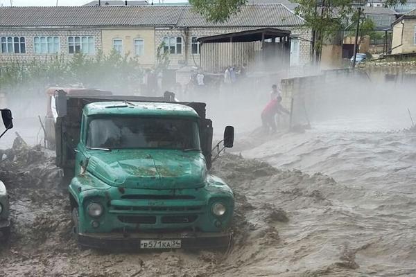 Дагестан затопило
