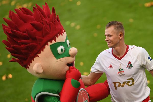 Назван самый популярный российский футболист