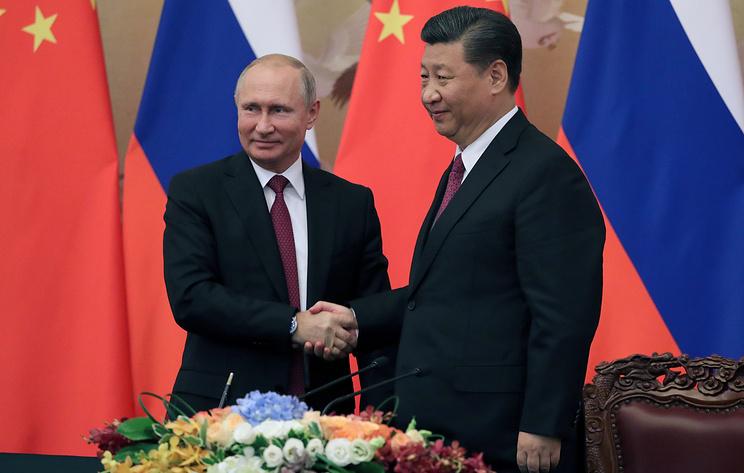 Лидеры России и Китая договорились наращивать сотрудничество по всем направлениям