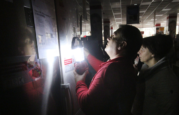 В Симферополе и Севастополе частично отключили электроэнергию