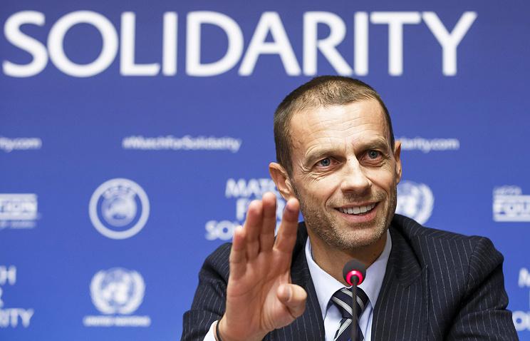 Глава УЕФА поприветствовал решение Инфантино переизбираться на новый срок во главе ФИФА