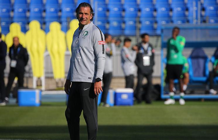 Тренер сборной Саудовской Аравии назвал команду России самым сложным соперником в группе