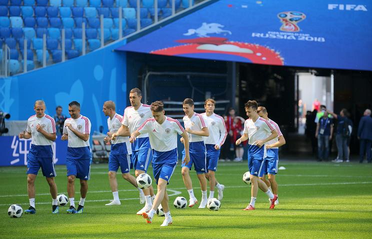 Онлайн-трансляция матча ЧМ-2018 Россия - Египет