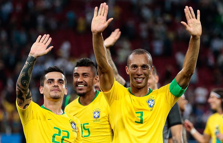 Сборная Бразилии по футболу поблагодарила Сочи за прием во время чемпионата мира