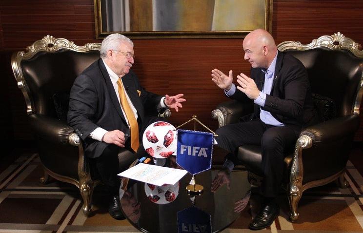 Джанни Инфантино: Россия задала новый эталон проведения чемпионата мира по футболу