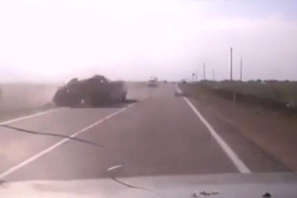 Смертельное ДТП под Краснодаром попало на видео