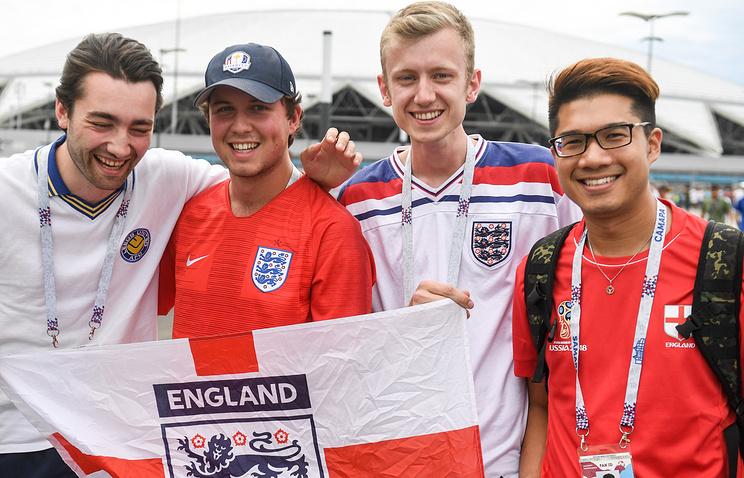 Онлайн-трансляция матча 1/4 финала ЧМ-2018 Швеция - Англия