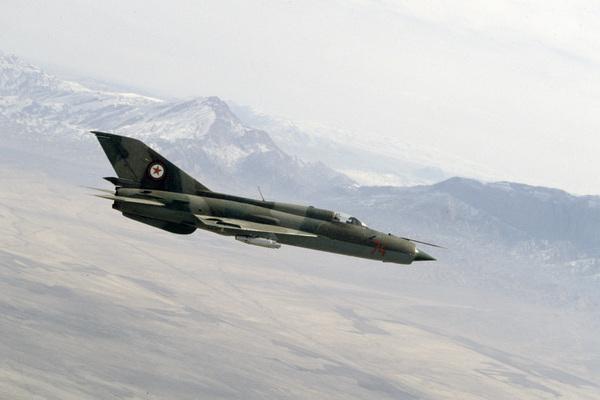 Второй за два дня истребитель МиГ разбился в Европе