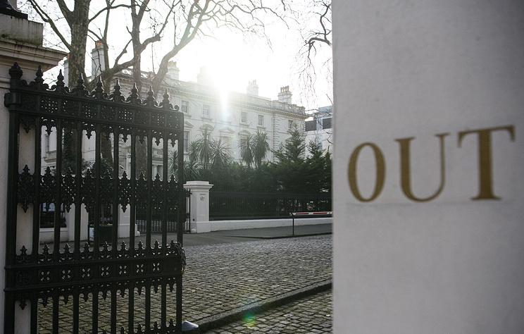 Посольство РФ потребует от Лондона раскрыть программу синтеза боевых отравляющих веществ