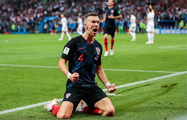 Перишич признан лучшим игроком матча 1/2 финала чемпионата мира Хорватия - Англия